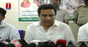 KTR-on-establishment-of-Skill-Personality-Development-Centers-all-over-Telangana-T-News